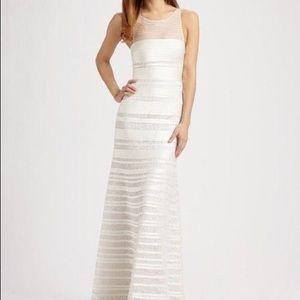 BCBGMAXAZRIA Brooke Satin Gown Wedding Dress